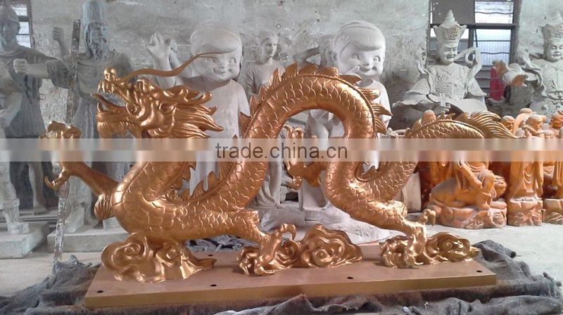 Chinese classical bronze dragon sculpture