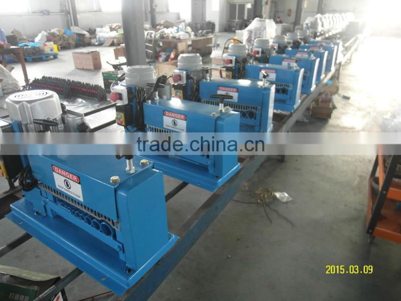New wire stripping and separating machinery chop to 220v used ...