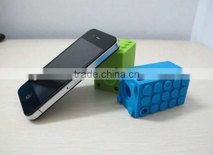 Horn Stand Speaker Loudspeaker Amplifier Silicone for mobile phone