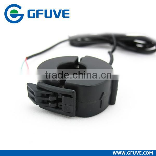 Low voltage miniature zero phase current transformer