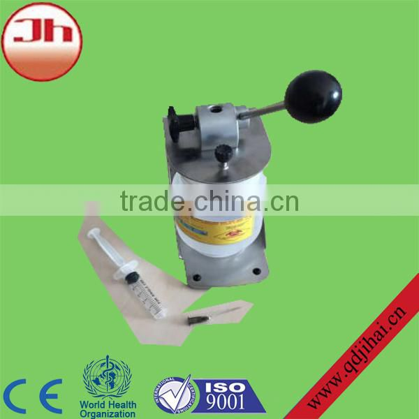 2015 New Design Stainless Manual Syringe Needle Cutter With CE Approved