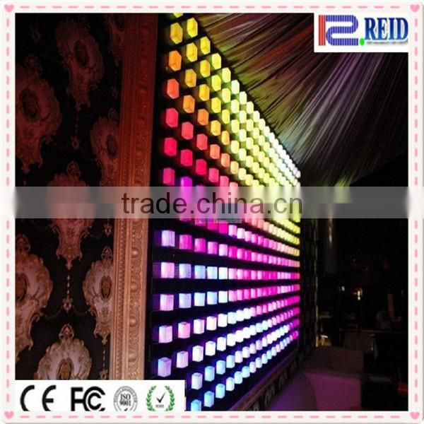 Decorative waterproof ed point light rgb led pixel dot light for wall or ceiling