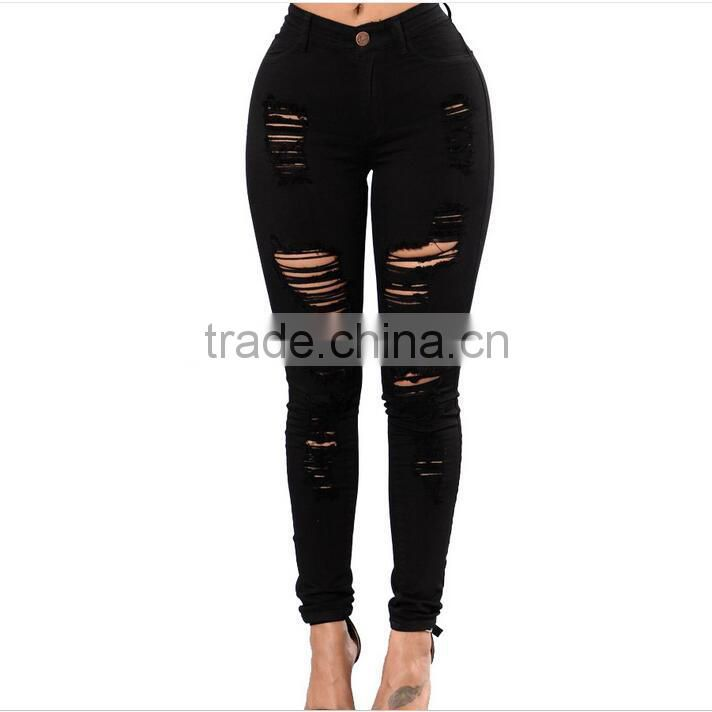 2017 latest design high waist elastic active womens yoga pants skinny pant for sexy girls