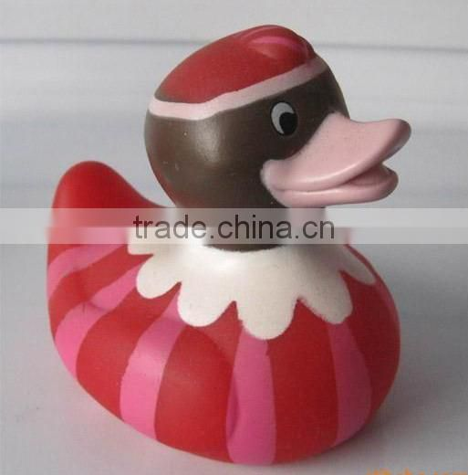Custom logo eco-friendly PVC baby floating bath duck