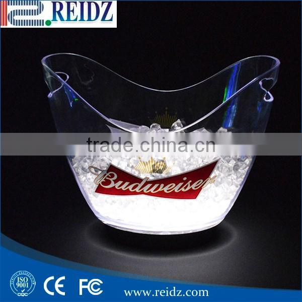 REIDZ factory hot supply FDA CE Certification and Eco-Friendly Feature acrylic ice bucket
