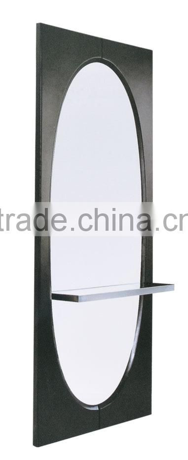 2015 Modern and chic country vintage salon styling customized size mirror with table
