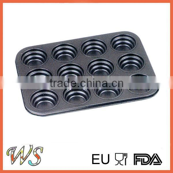 12 Cups Carbon Steel Bakeware Mould