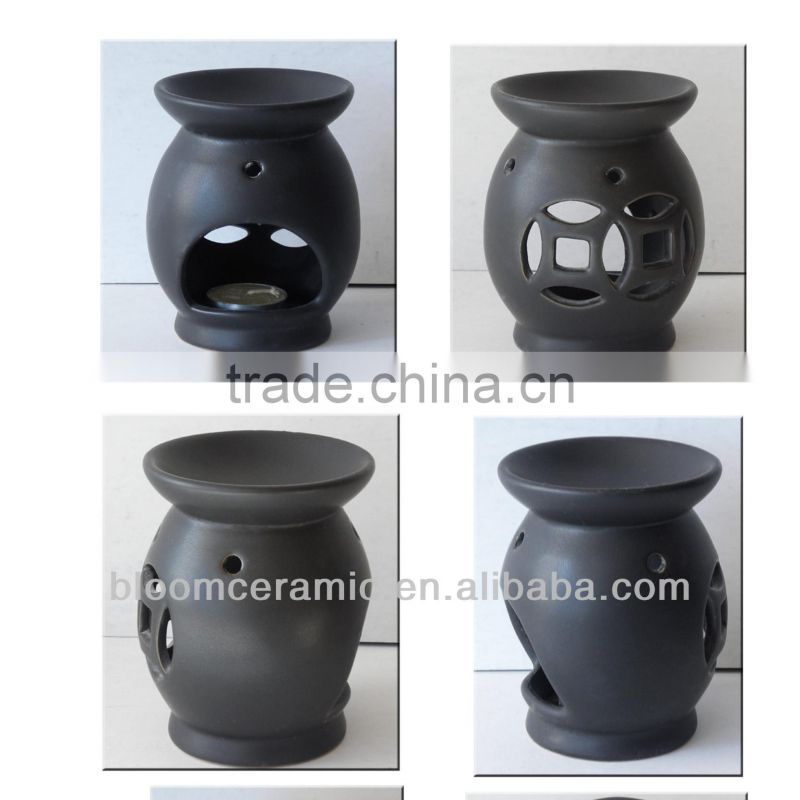 Customized ceramic oil incense burner