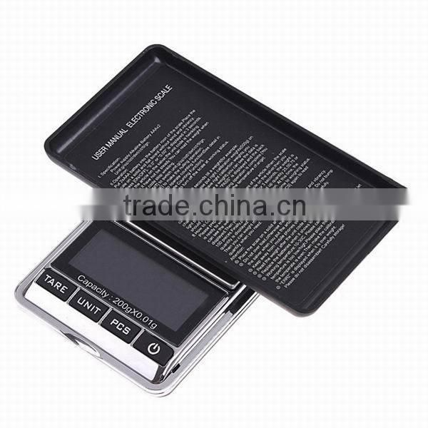 High Precision 200g x 0.01 Digital Scale Jewelry Balance Weighing Scale