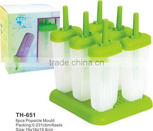 Ice lolly pops mold set popsicle molds