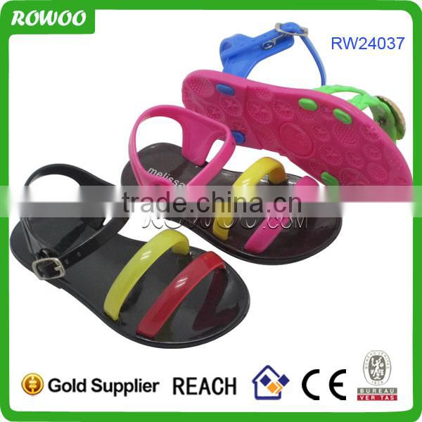 Latest design fashion soft sole children student beach sandal for school