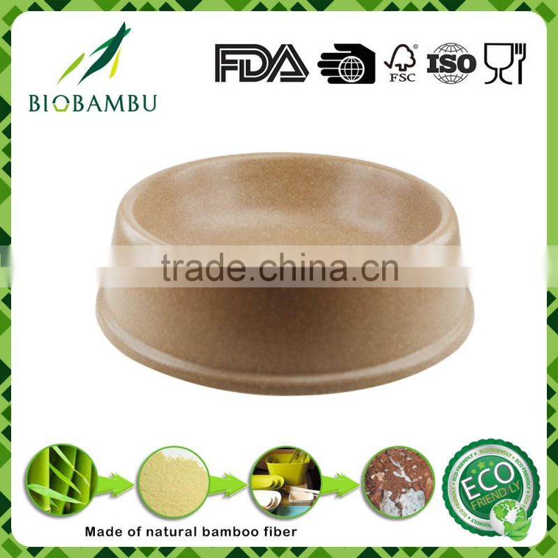 Professional Pro-environment Portable bamboo fiber dog bowl