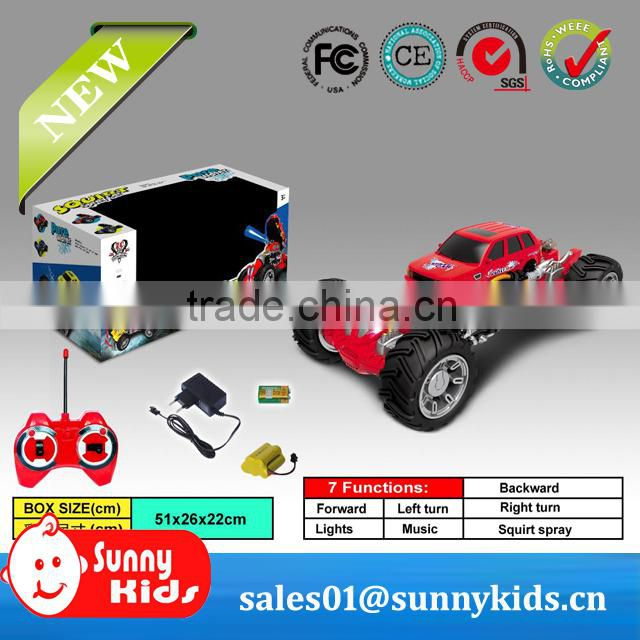 rc car rc monster truck for children toy rc toy with music light