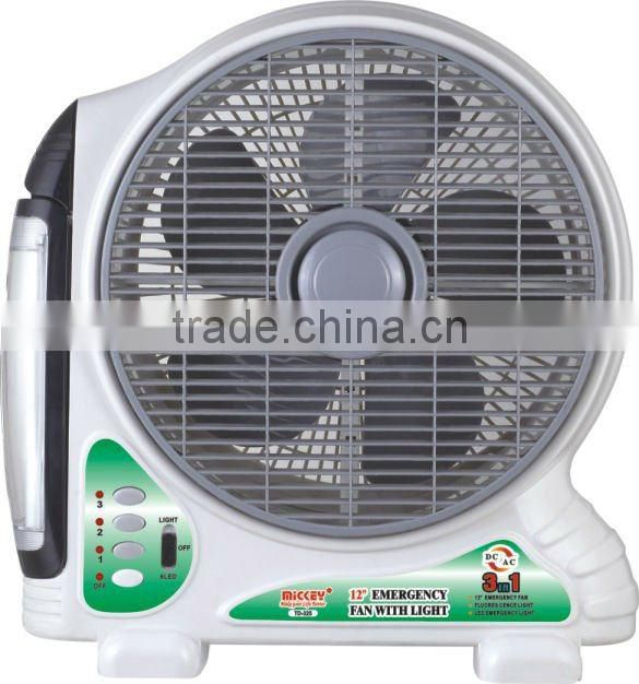 hotsale competitive price rechargeable fan with battery