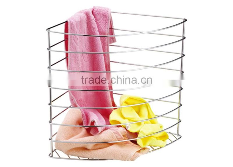 towtel hotel restaurant guest romm stainless steel towel basket/facecloth,dushbin/Dirty clothes basket
