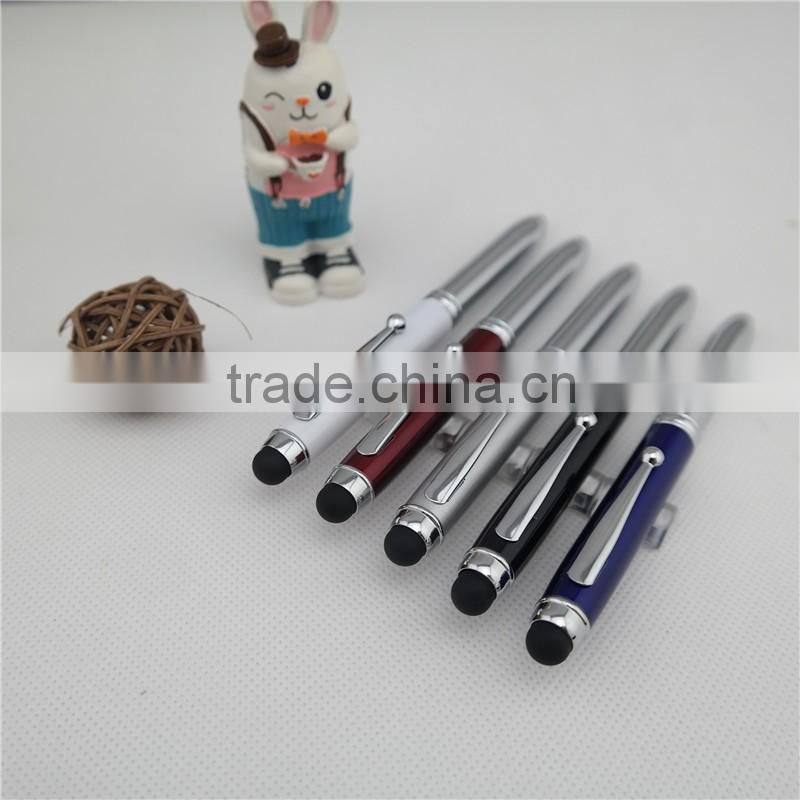 promotional tip light ball pen , led torch light pen