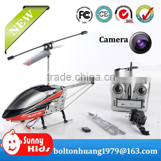 New 2.4Gz RC flying camera helicopter with memory card and Gyro