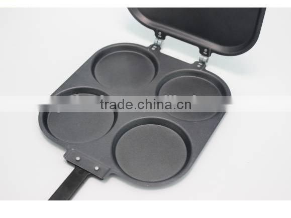 4pcs colorful high quality big round aluminum bakeware set