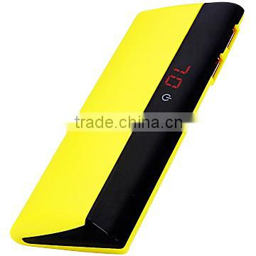 11000mAh Marquee Power Bank with LED Flashlight/LCD Screen