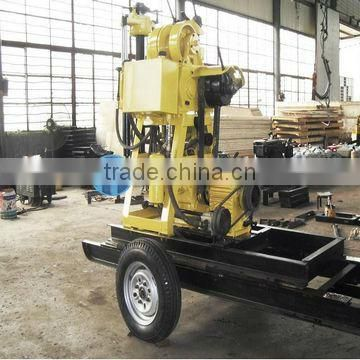 Welcomed in Russia Area!!! HF150 Trailer Water Well Drill Rig