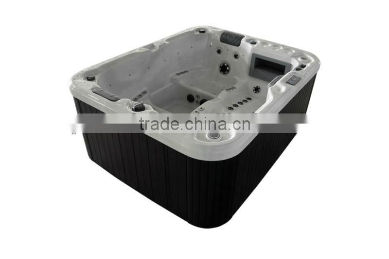3 Person Family Friendly Indoor massage bathtub/Acrylic bathtub with Balboa&Lucite ---A430