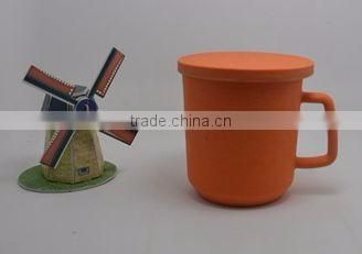 Eco Bamboo Fiber Cup/mug with Lid