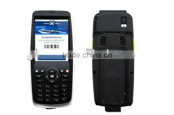 GF1200 Portable data terminal with common optical cord
