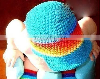 Promotion Baby Hat Summer Crochet Beanie Boy Cheap Funny Hats Baby Caps Child Hat Many Colors for 0-4T