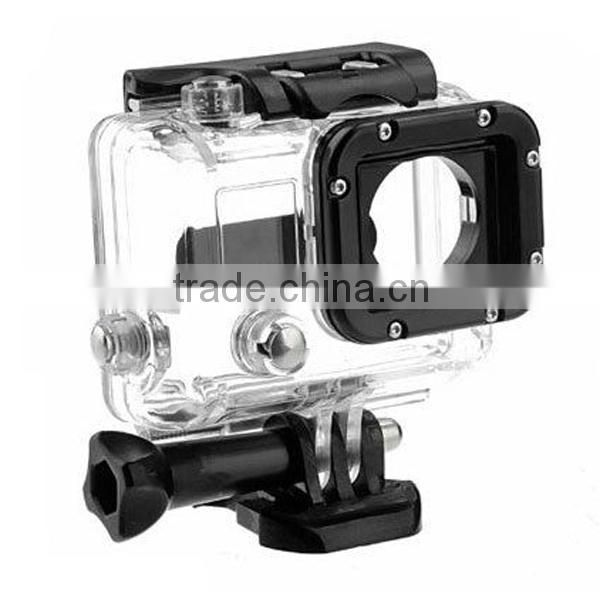 Skeleton Protective Housing Case Open Side for FPV with Lens for GoPro Hero 3