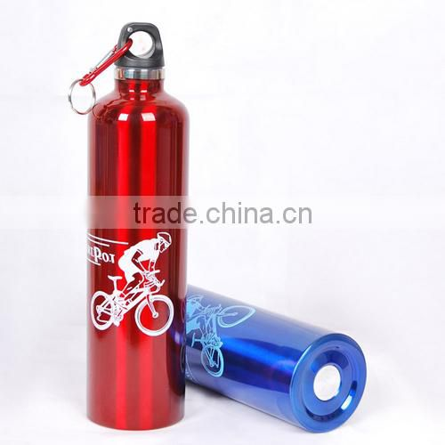 Silk Screen Priniting Heat Transfer Printing Stainless Steel Drinking Water Bottle