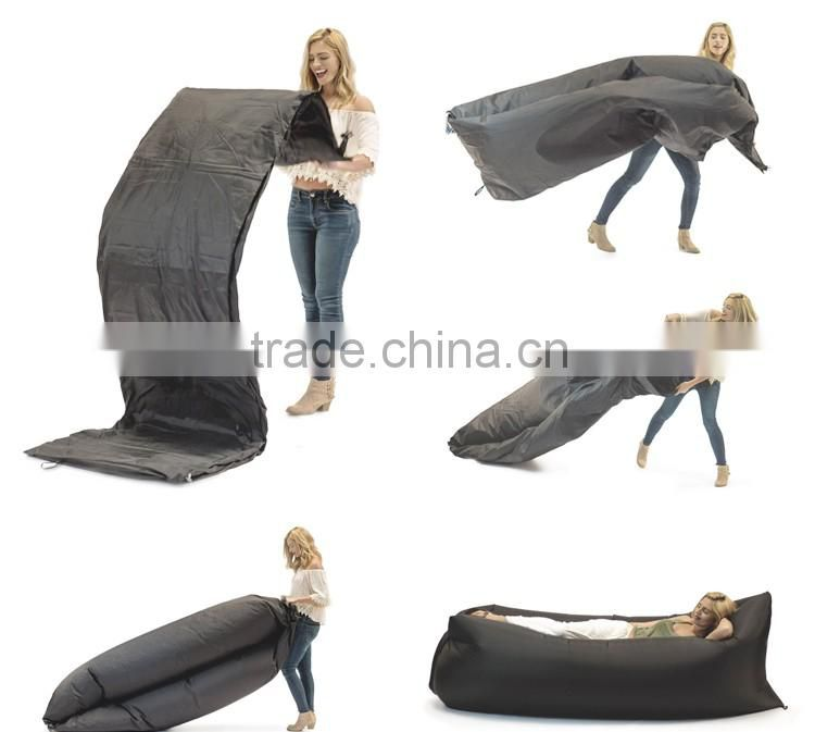 Top Fashion 2016 Inflatable Lazy Sofa Outdoor Air Sleep Sofa For Sale