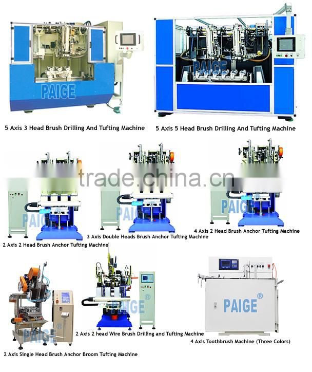 2016 CNC Brush making machine Tufting machine& brush making machine