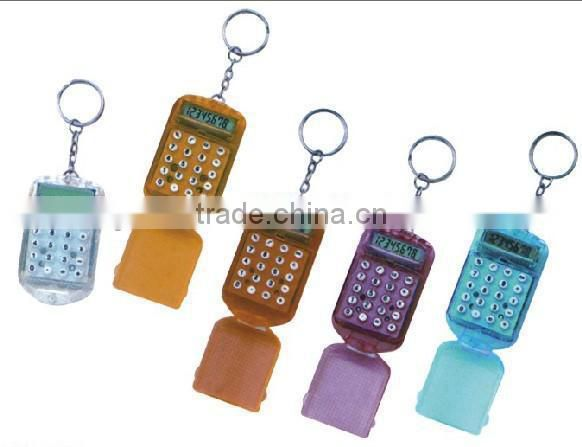 plastic promotion calculator with the keyring