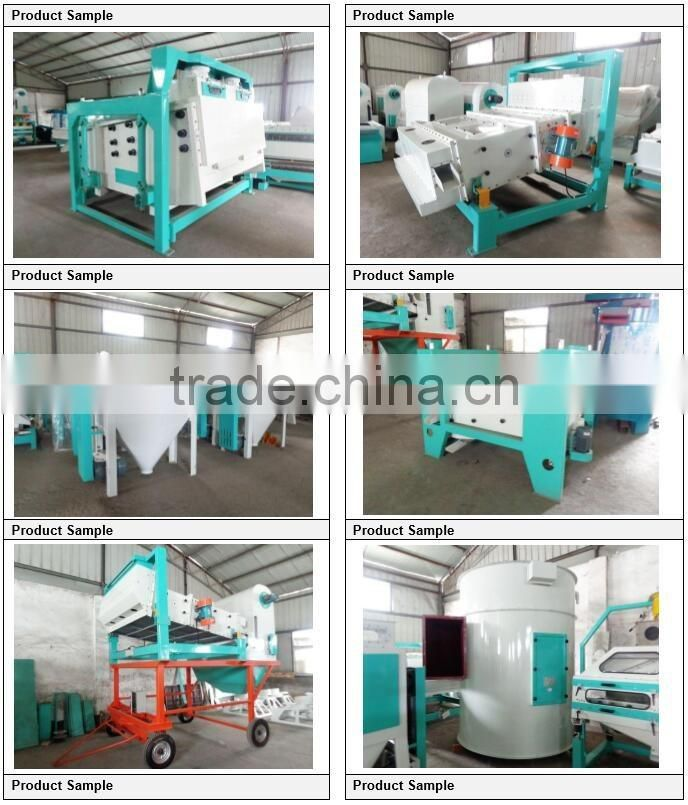 highly efficient electirc vibrating cleaning sifter for food processing plants