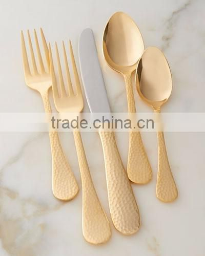 new modern fancy look metal handmade cutlery sets