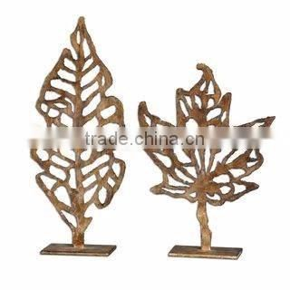 copper plated metal antique sculpture