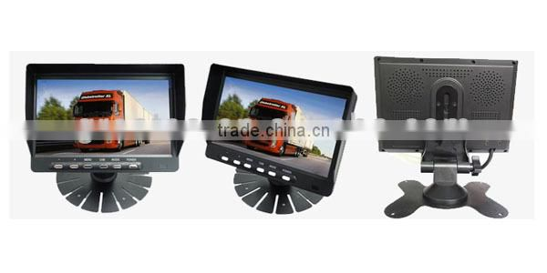 factory best 7 inch digital LCD monitor for bus/truck/Lorry/Trailer