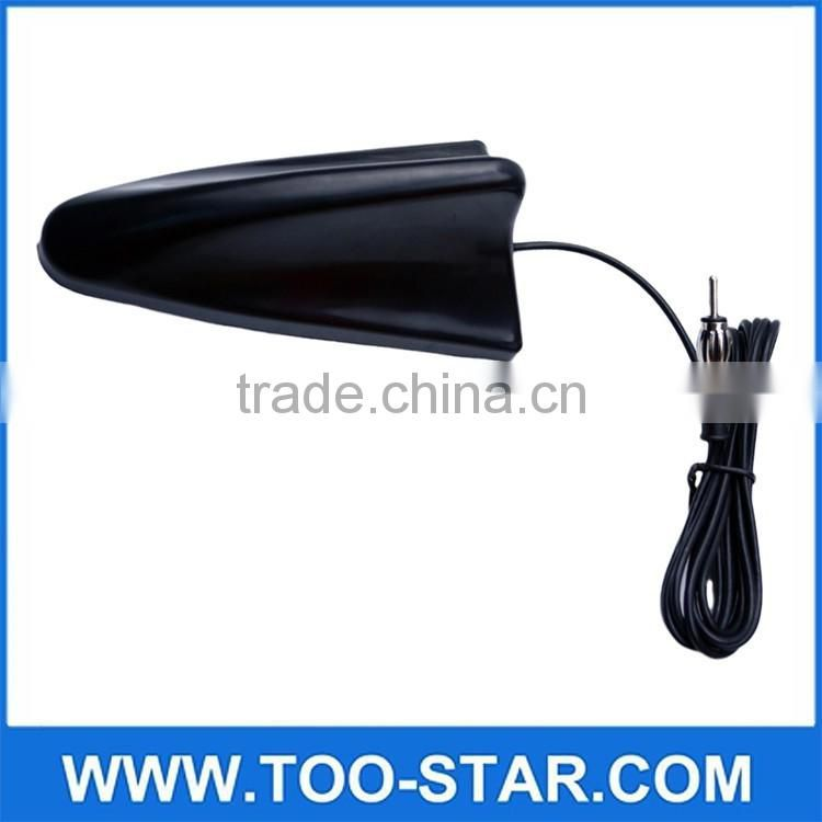 Universal Auto Car Roof Radio AM/FM Signal Booster Shark Fin Aerial Antenna