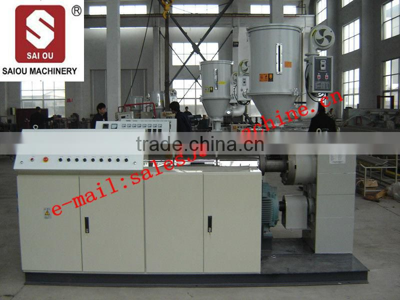 CE certificated HDPE pipe Extrusion line