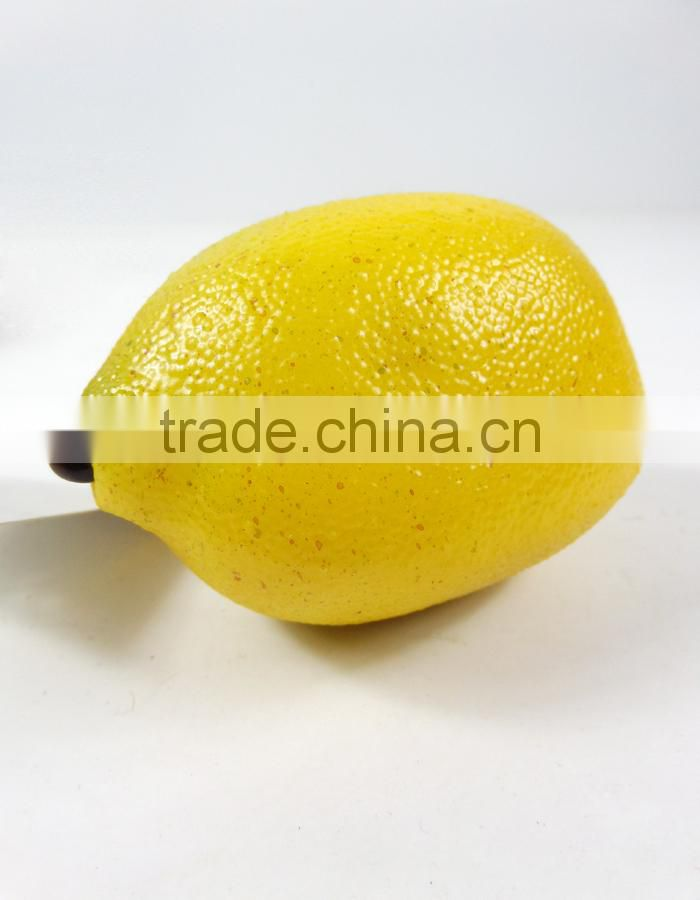 artificial PE mango for decoration fake fruit