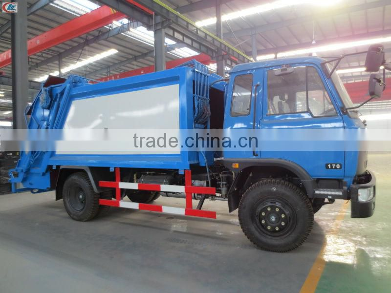 DongFeng 145 4*2 Garbage Compactor Truck for sale