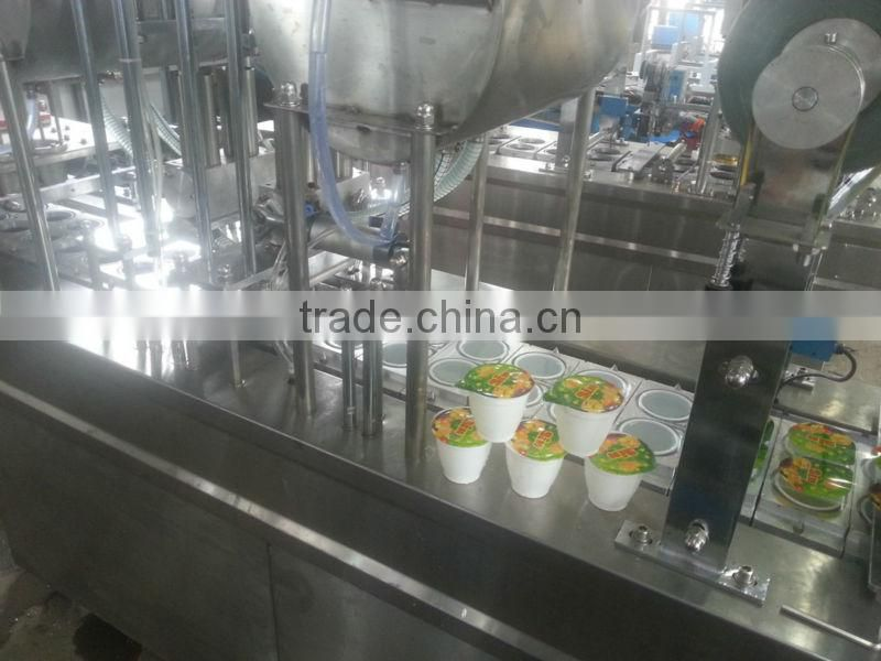 Cup Filling Machine - 2 times filling - 1800~5400 cups/hour