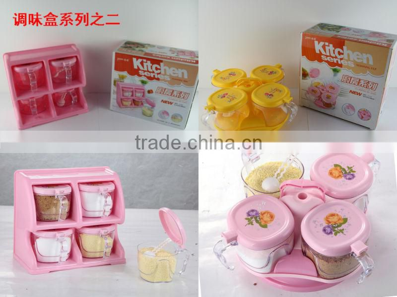 The factory for high quality plastic masala spice box