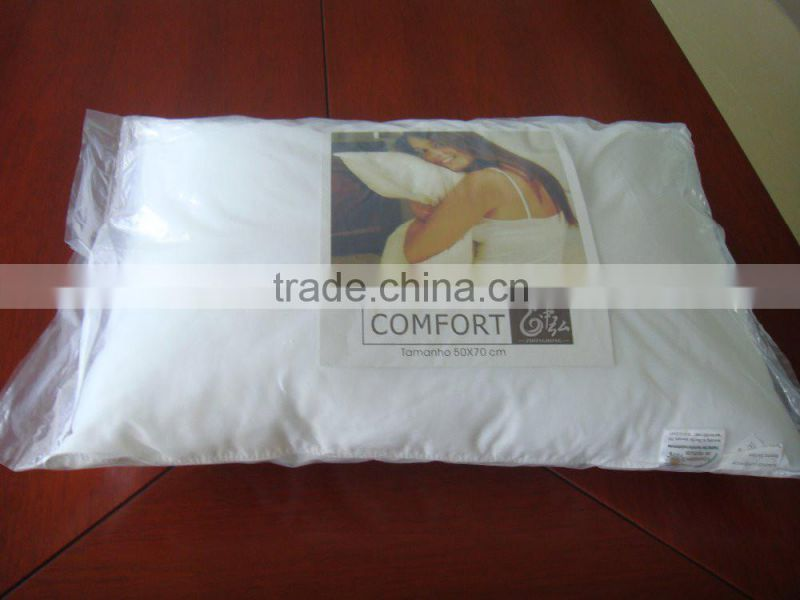 2016 70% white duck down pillow luxury hotel feather pillow
