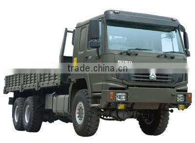 QINGZHUAN HOWO 6X6 military armored vehicle diesel truck for sale