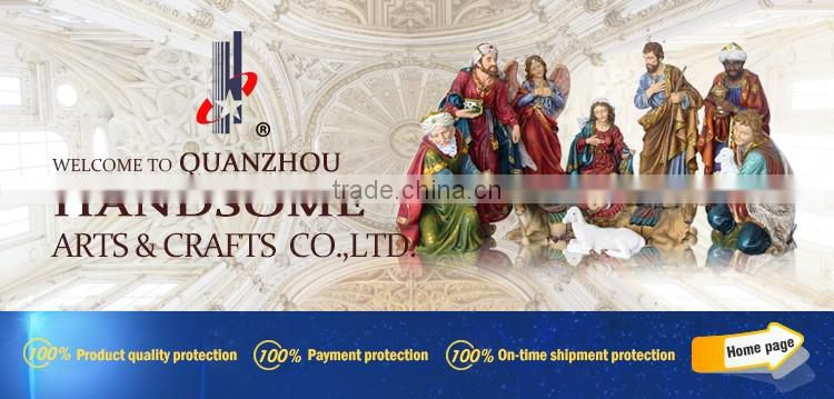 18 Inch Outdoor Linen Finish Resin Craft Religious Items China Christmas Nativity