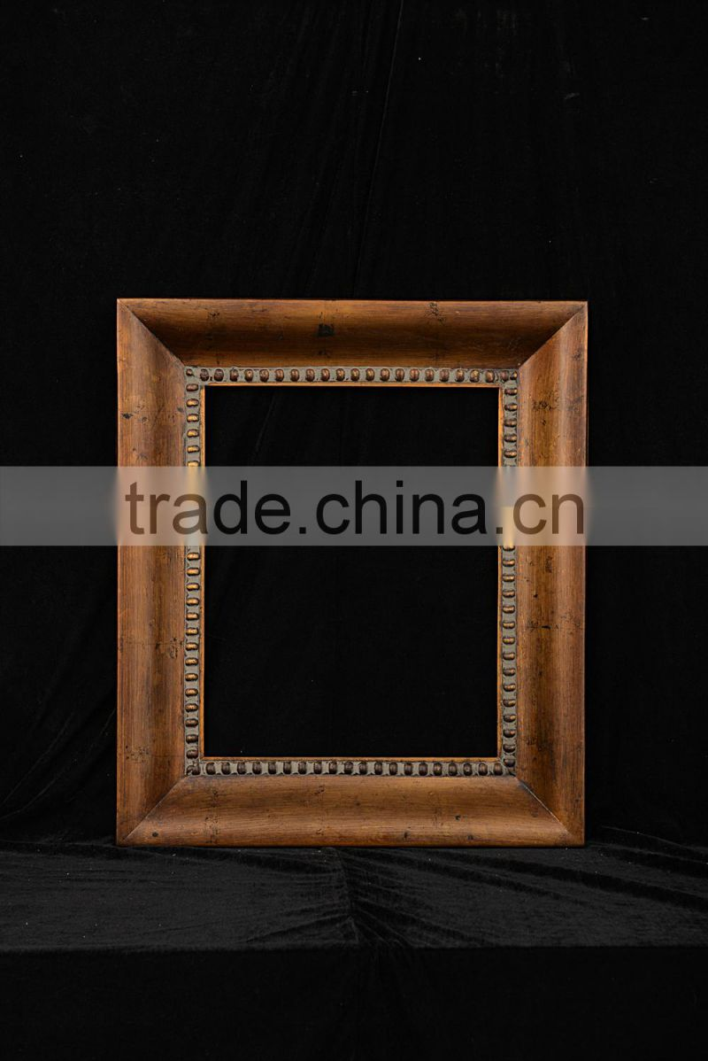 Antique Wooden Picture Frame for Canvas Print All Sizes Available