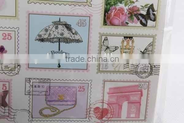 Foldable Gift Bag With Stamp Patterns/ Shopping Bag