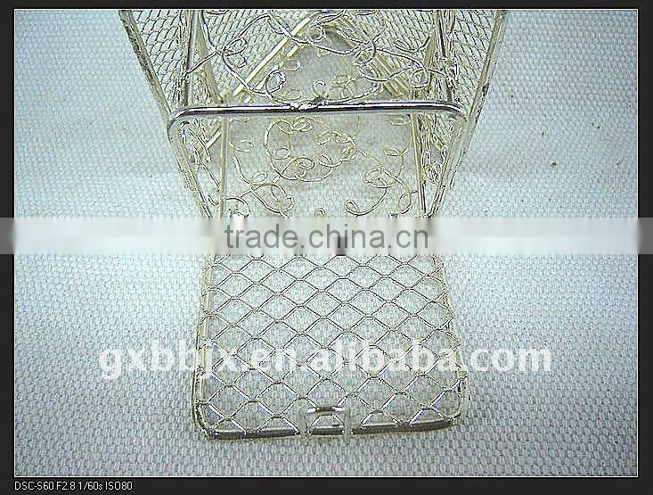 Gold/Silver iron wire decorative small house handmade craft