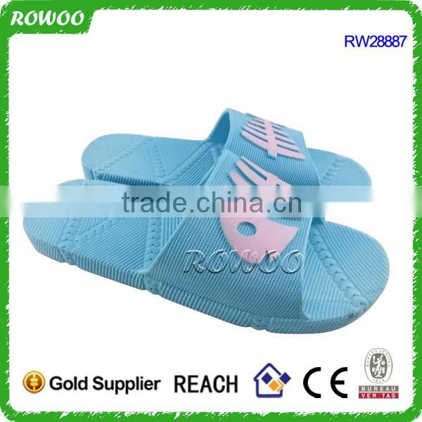 Latest design Beach breathable woman Soft pvc african slipper